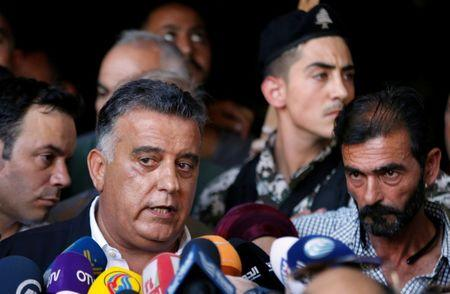 FILE PHOTO - Major General Abbas Ibrahim, head of Lebanon's Directorate of General Security speaks to reporters in Beirut
