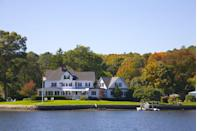 """<p>A small seaside village with a ton of character, <a href=""""http://thisismystic.com"""" rel=""""nofollow noopener"""" target=""""_blank"""" data-ylk=""""slk:Mystic, Connecticut"""" class=""""link rapid-noclick-resp"""">Mystic, Connecticut</a>, is full of beautiful restaurants, galleries, shops and homes like the one pictured here. Visitors will also enjoy taking in the location's rich history: Settled in 1654, Mystic is home to what is known as the nation's leading maritime museum, <a href=""""http://www.mysticseaport.org/"""" rel=""""nofollow noopener"""" target=""""_blank"""" data-ylk=""""slk:Mystic Seaport"""" class=""""link rapid-noclick-resp"""">Mystic Seaport</a>.</p><p><em><a href=""""http://www.housebeautiful.com/lifestyle/g3467/best-american-small-towns-2016/"""" rel=""""nofollow noopener"""" target=""""_blank"""" data-ylk=""""slk:See more of the best small towns to visit in 2016."""" class=""""link rapid-noclick-resp"""">See more of the best small towns to visit in 2016.</a></em></p>"""