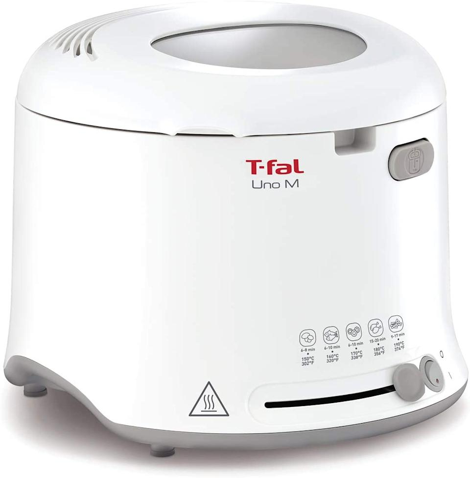 T-Fal Uno Compact Deep Fryer- Amazon.