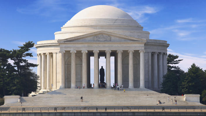 The Jefferson Memorial in Washington, D.C. (Getty Images)