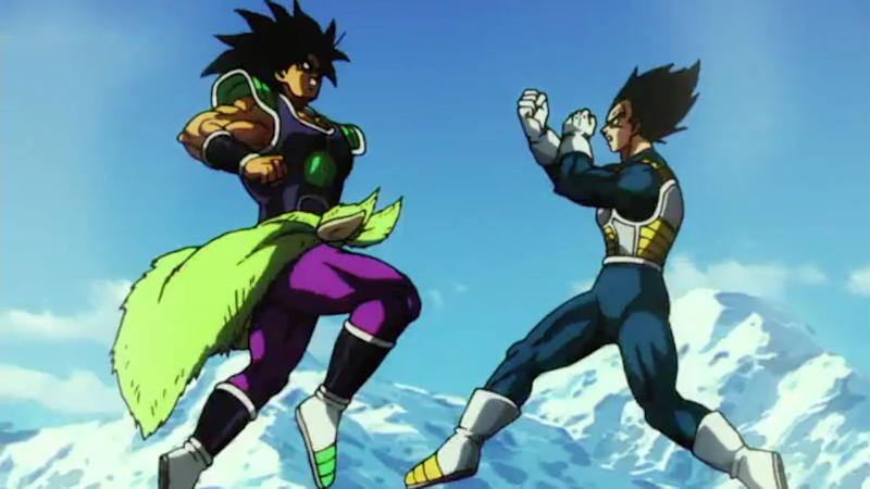 526157db Watch Vegeta fight Broly for the first time in exclusive Dragon Ball Super:  Broly clip