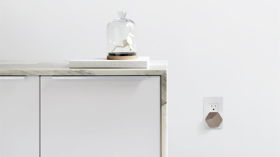 <p>Are you or a loved one suffering from slow internet? You're going to want to get your hands on <span>Plume's WiFi pods</span> ($234 for a set of six pods) ASAP! While routers are notoriously spotty, these gem-shaped plug-ins put the router in the Cloud and adapt in real-time to the needs of your busy home filled with WiFi-hungry devices. Get ready to stream movies, join a video conference, and shop online at lightning speed from the basement, bathroom, or any other room you need to be in. </p>