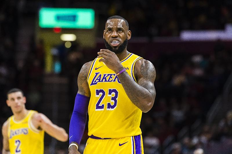 best service 72dd5 438a3 LeBron out for World Cup, says 2020 Olympics 'possibility'