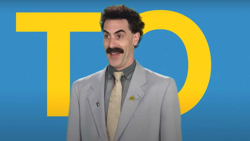 Sacha Baron Cohen as Borat (Photo: Amazon Prime)