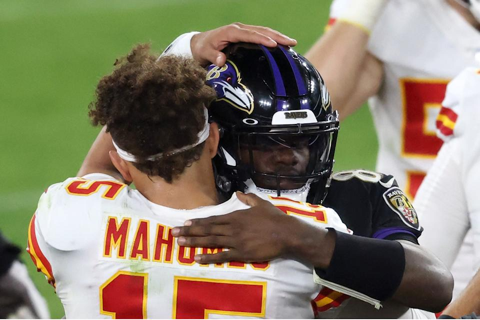 Patrick Mahomes and the Chiefs drew plenty of viewers. (Photo by Rob Carr/Getty Images)