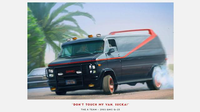 "<p>The original A-Team series (not the 2010 flop movie) features a Vandura, a utility van from <a href=""https://www.motor1.com/gmc/"" rel=""nofollow noopener"" target=""_blank"" data-ylk=""slk:GMC"" class=""link rapid-noclick-resp"">GMC</a>. Although the reincarnated movie featured the same vehicle, the original still fits the bill, especially with its strong colors, body accessories, and a whole lot of badass – just like the TV show.</p>"