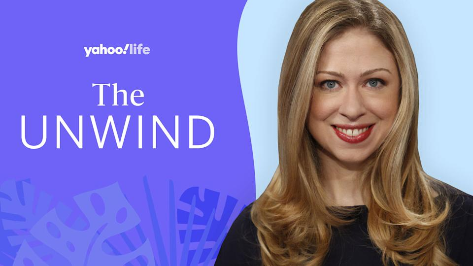 Chelsea Clinton talks running, staying grounded and her new iHeartRadio podcast. (Photo: Courtesy of Chelsea Clinton; designed by Quinn Lemmers)