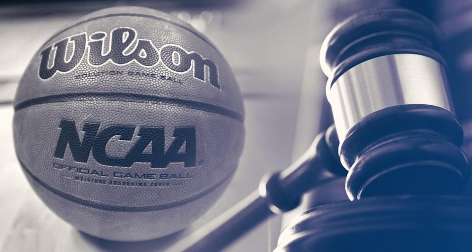 The trial on college hoops corruption may ratchet up Tuesday when Brian Bowen Sr. is cross-examined. (Yahoo Sports illustration)