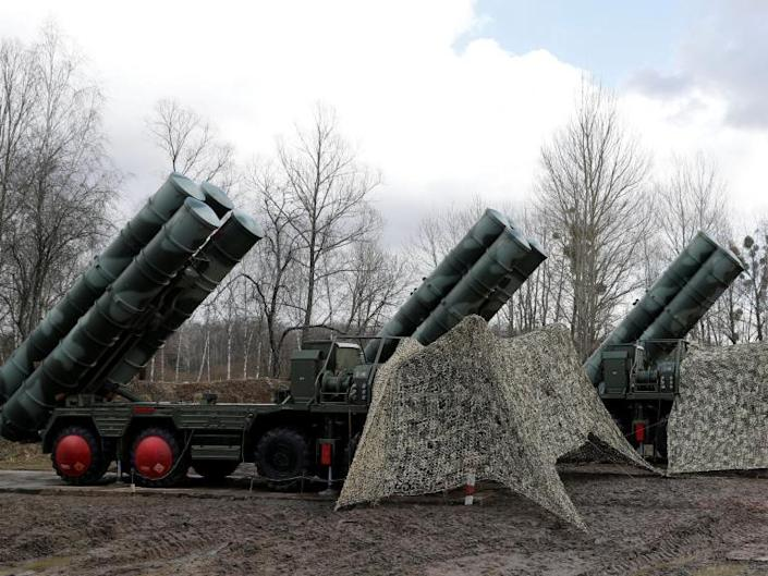 """America has warned Turkey not to buy a Russian air defence system and threatened it could risk its Nato membership if it goes ahead with its plans.""""Turkey must choose,"""" US vice president Mike Pence said. """"Does it want to remain a critical partner in the most successful military alliance in history, or does it want to risk the security of that partnership by making such reckless decisions that undermine our alliance?""""His remarks came after Turkey insisted on Wednesday the Russian deal was already done.Washington fears the Russian S-400 missile system would compromise the security of its F-35 fighter jets.Speaking at a Nato 70th anniversary event, Mr Pence added: """"We've also made it clear that we will not stand idly by while Nato allies purchase weapons from our adversaries that threaten the cohesion of our alliance.""""Turkey retaliated promptly, with its vice president Fuat Oktay tweeting: """"The United States must choose. Does it want to remain Turkey's ally or risk our friendship by joining forces with terrorists to undermine its Nato ally's defence against its enemies?""""The US' support to the Kurdish-led Syrian Democratic Forces (SDF) fighting against Islamic State in Syria has infuriated Turkey, which views the SDF as a terrorist organisation. Washington has however warned proceeding with the deal could result in US sanctions and the expulsion of Turkey from the F-35 fighter jet programme.On Monday, the Pentagon stopped the delivery of F-35 parts and manuals to Turkey.The US has offered to sell Turkey the American-made Patriot missile defence system, but Turkish foreign minister Mevlut Cavusoglu said it could not be delivered on time.""""We couldn't get it for 10 years,"""" Mr Cavusoglu said at the Atlantic Council on Wednesday morning. """"That's why we had to buy from Russia. And we tried to buy from other allies as well. It didn't work. So it is an urgent need of Turkey. I mean, we need air defence systems urgently in Turkey.""""Ankara says it needs the missile system to defen"""