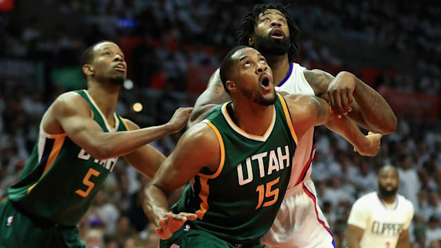Sunday's deciding game seven went in favour of the Utah Jazz, who beat the Los Angeles Clippers 104-91 on the road.
