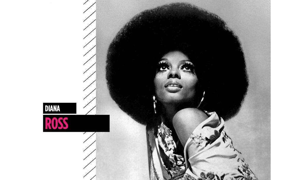 <p>The legendary singer and actress stole the spotlight in the 1970s with her larger-than-life Afro. (Photo: Getty Images) </p>