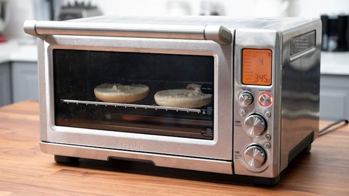 The Breville Smart Oven Pro is the best toaster oven we've tested.
