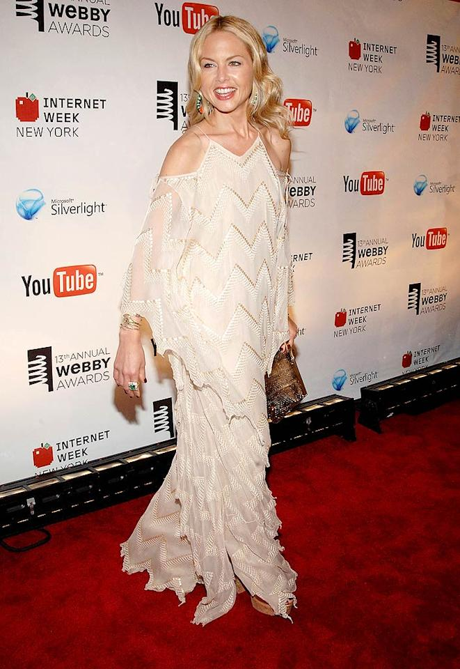 "Rachel Zoe's dress: glamorous or granny curtains? Duffy-Marie Arnoult/<a href=""http://www.wireimage.com"" target=""new"">WireImage.com</a> - June 8, 2009"