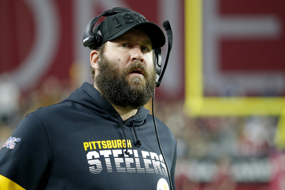 Ben Roethlisberger, who's twice been accused of sexual assault, says he's a changed man. (AP Photo/Rick Scuteri)