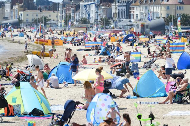 The heatwave will continue until the end of the week. (Getty Images)