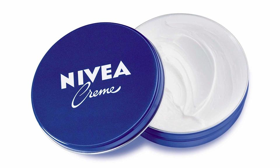<p>A little bit goes a long way with the rich <span>Nivea Crème</span> ($1). The classic cream will alleviate dry skin all for $1!</p>