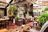 <p>At the cult Indian eatery's venues in Shoreditch and Kingley Court (just off Carnaby Street), verandas and terraces are opening to welcome back customers who have surely missed their bacon naans by now.</p>