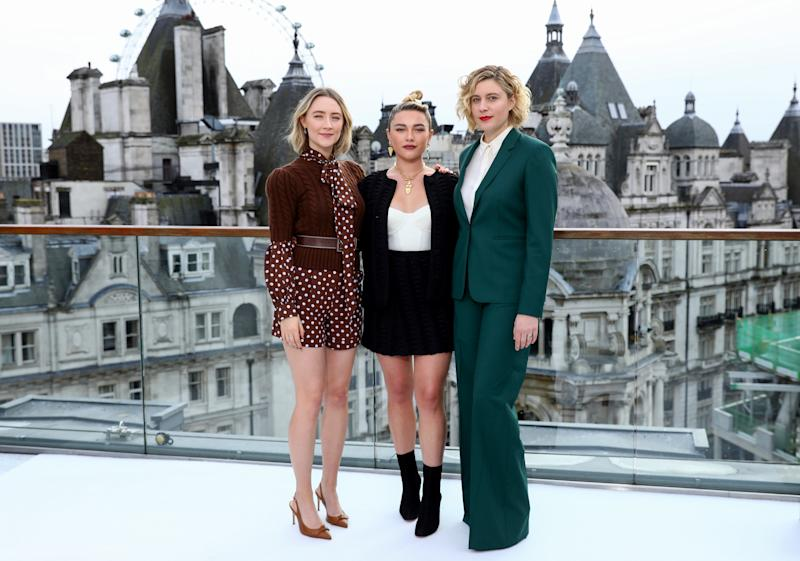 Florence Pugh and Saoirse Ronan Called Out Greta Gerwig's   Little Women Oscar Snub