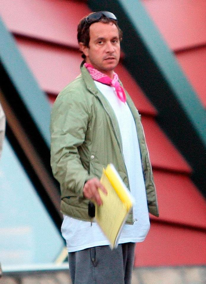 """What's more ridiculous? Pauly Shore's resume or that hideous handkerchief around his neck? KMAX/<a href=""""http://www.x17online.com"""" target=""""new"""">X17 Online</a> - November 29, 2008"""