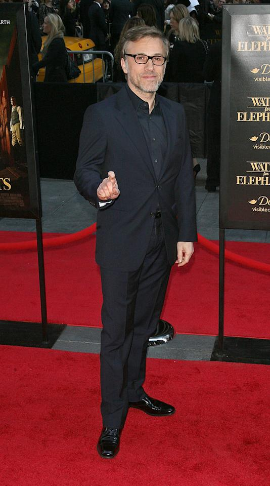"<a href=""http://movies.yahoo.com/movie/contributor/1809655132"">Christoph Waltz</a> attends the New York premiere of <a href=""http://movies.yahoo.com/movie/1810161083/info"">Water for Elephants</a> on April 17, 2011."
