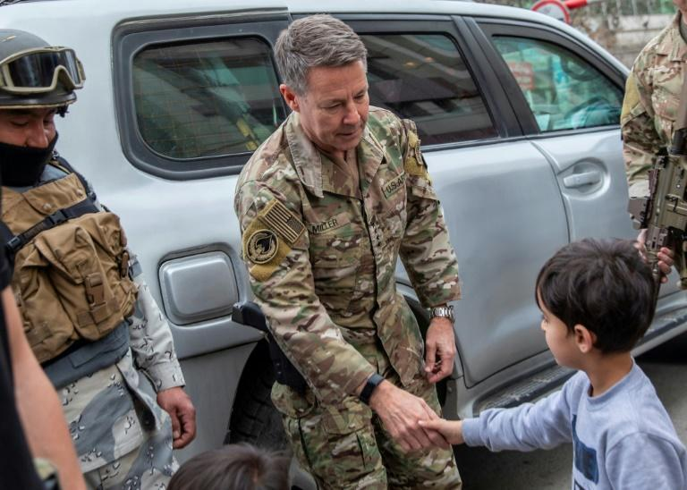 """The top US commander in Afghanistan General Scott Miller says the overall security situation is """"not good"""""""