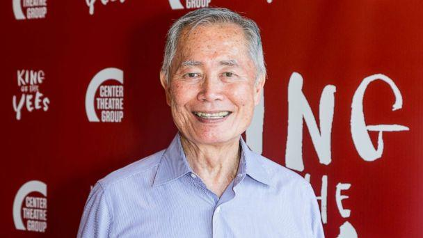 PHOTO: George Takei attends the opening night of 'King Of The Yees' at the Kirk Douglas Theater, July 16, 2017 in Culver City, Calif. (Greg Doherty/Getty Images, FILE)