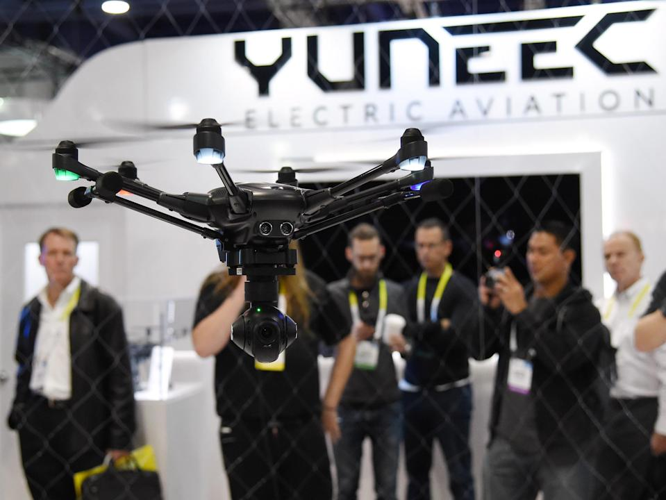 Yuneec Drone. Getty Images.