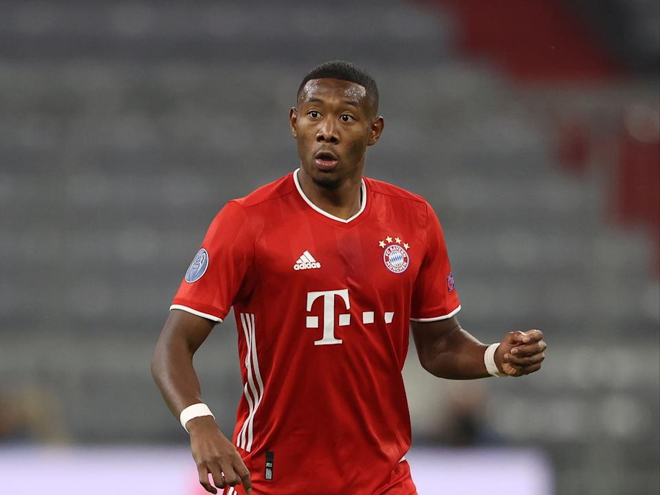 Bayern Munich defender David Alaba is a wanted man (Getty Images)