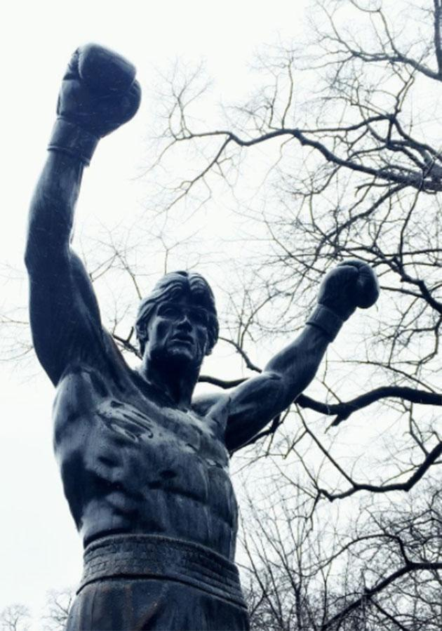 The very Intsagrammable Rocky Statue. Photo: Instagram