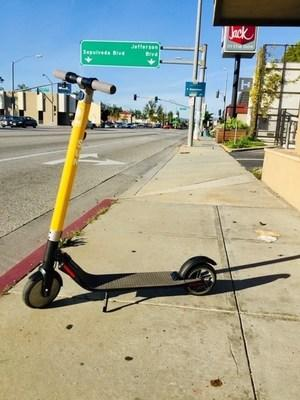 Sun will deploy 100 electric scooters in Santa Ana and seeks to solidify partnerships with local companies and city officials.