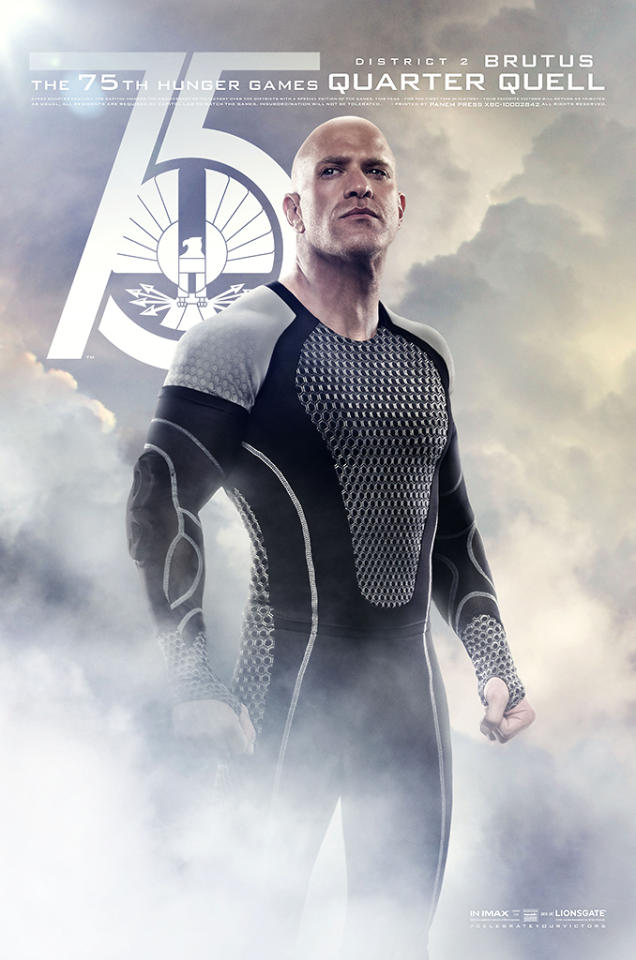 "Bruno Gunn as Brutus in Lionsgate's ""The Hunger Games: Catching Fire"" - 2013"