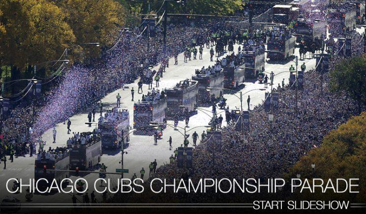 The best moments from the Cubs championship parade