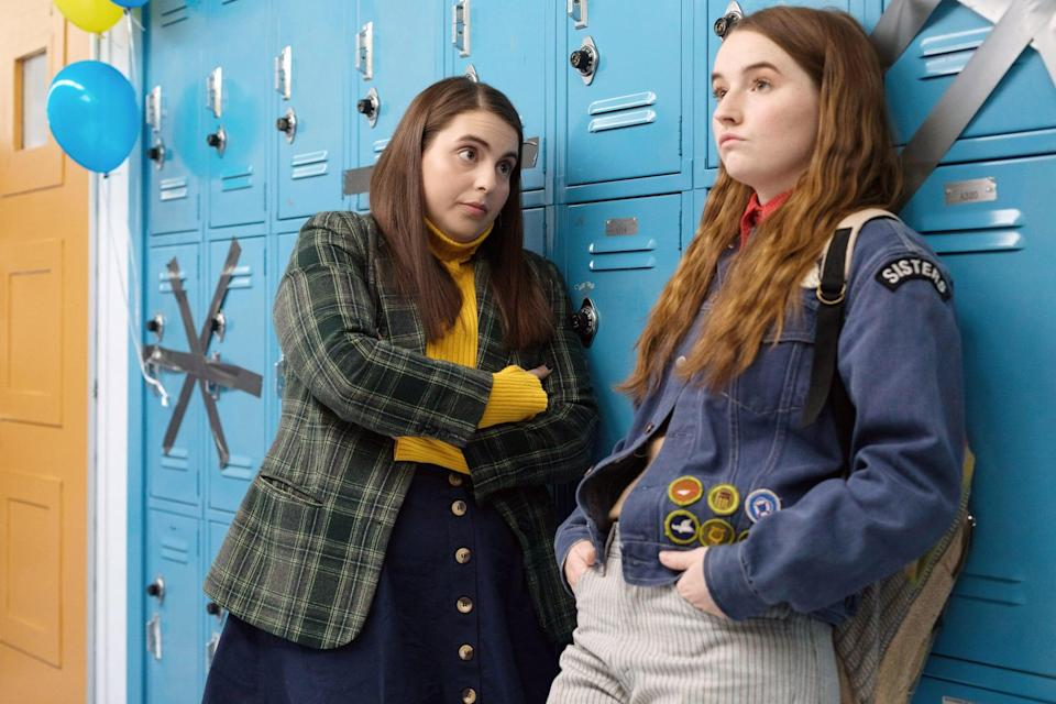 <ul> <li><strong>What to wear for Molly:</strong> Pack on the plaid! A green plaid blazer with a bright yellow turtleneck will make you feel like nothing less than a smarty pants. </li> <li><strong>What to wear for Amy:</strong> Remember when patches were cool? Well, they still are. Add patches to your favorite jean jacket, throw on a t-shirt, and give your outfit the finishing touch with a bandana. Done, done, and done. </li> </ul>