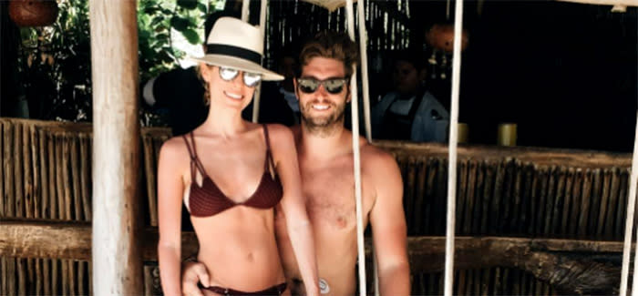 Kristen Cavallari recently posted a naked image of her husband on Instagram. (Photo: Instagram)