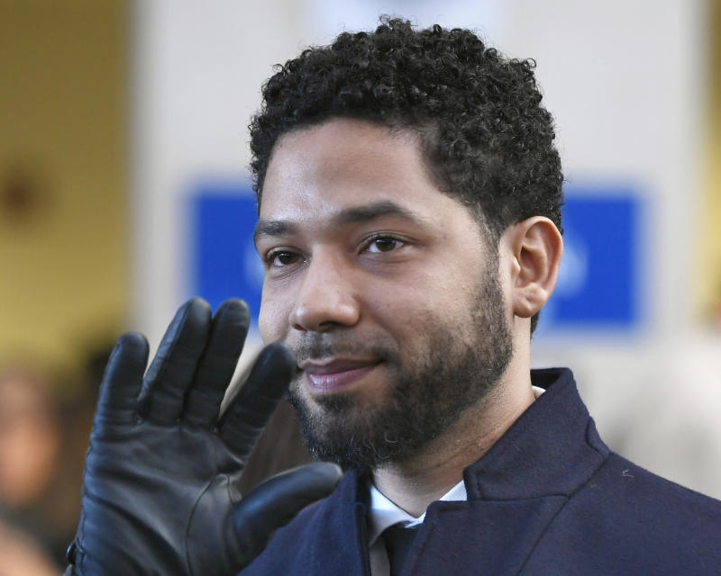 Judge orders file in Jussie Smollett criminal case be unsealed