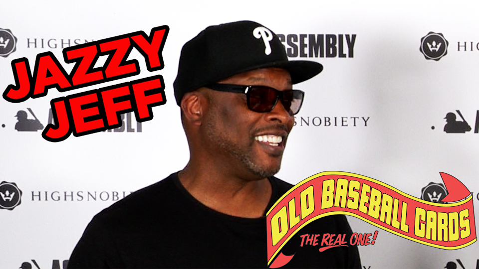 """Jazzy Jeff joins us on """"Old Baseball Cards."""" (Yahoo Sports)"""