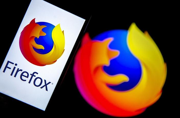 GettyImages 1187447326 ANKARA, TURKEY - DECEMBER 10: In this illustration photo web browser Mozilla Firefox logos are seen displayed on a laptop and phone screen in Ankara, Turkey on December 10, 2019. (Photo by Ali Balikci/Anadolu Agency/Getty Images)