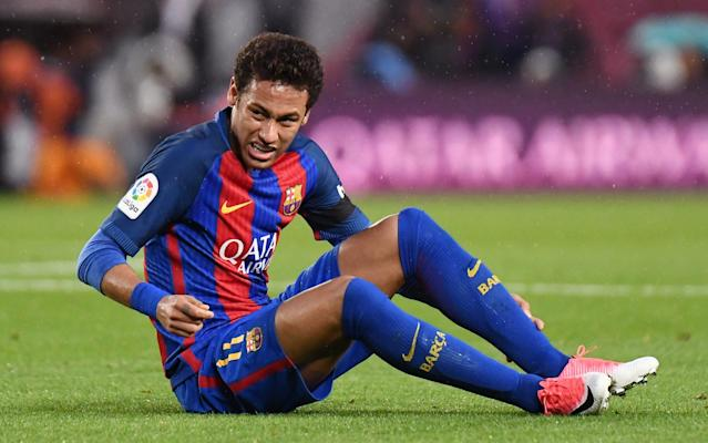 <span>Future: Neymar, who is from Brazil, was given as an example of someone who would be welcome</span> <span>Credit: Rex </span>