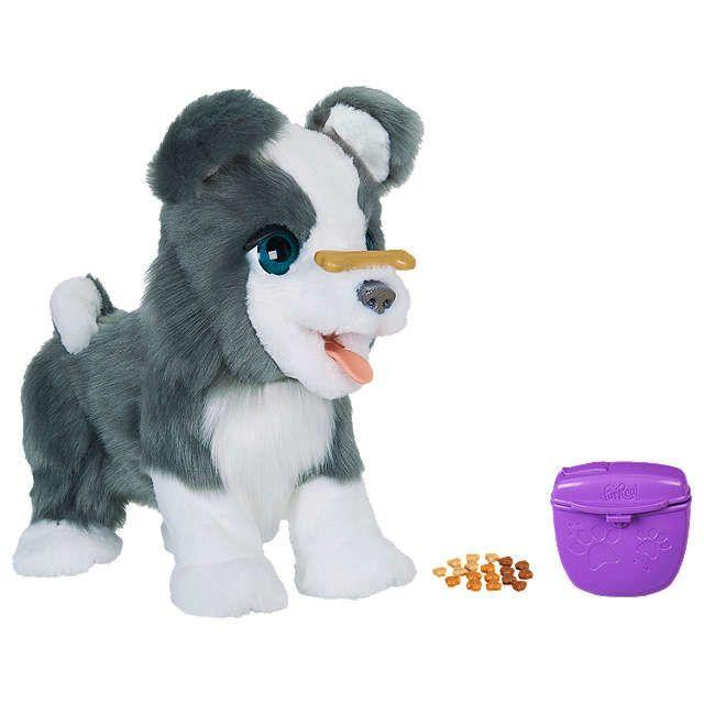 This dog can perform cool tricks: he flips his bone, shakes his paws, and can even bark a tune.<br />Price:£134.99