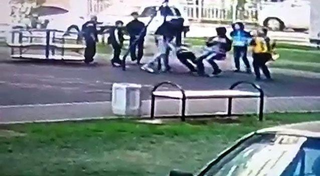 It is believed the boys had previously bullied the Russian man's son. Photo: CEN