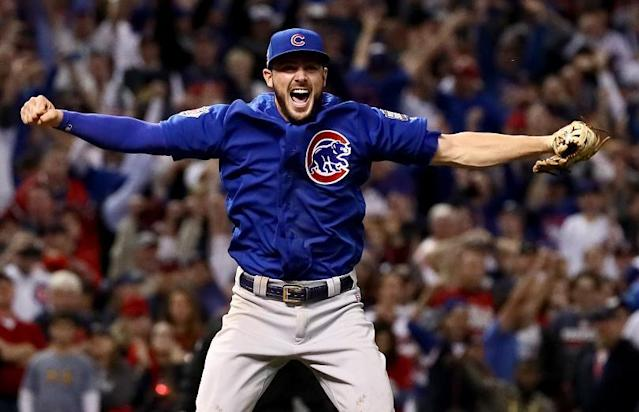Kris Bryant of the Chicago Cubs is winning every major award there is to be won. (Getty Images)