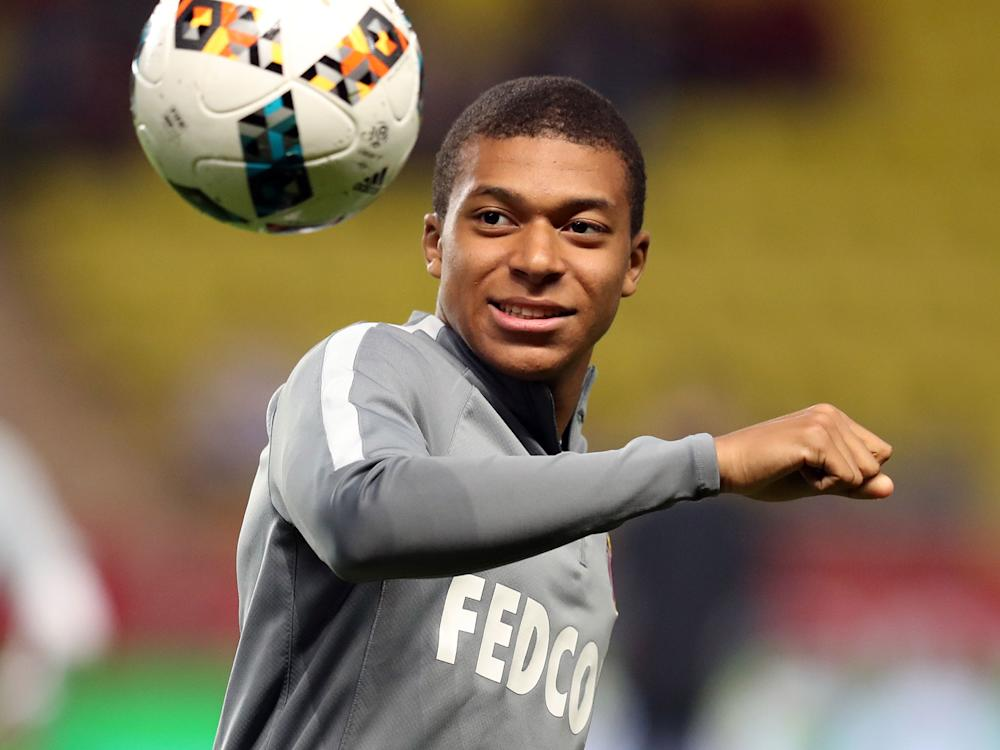 Mbappe has scored 22 goals from 36 appearances this season: Getty