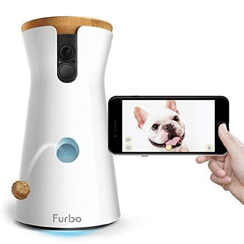 """<p>We don't know who will be more excited about this <a href=""""https://www.popsugar.com/buy/Furbo-Dog-Camera-401044?p_name=Furbo%20Dog%20Camera&retailer=amazon.com&pid=401044&price=199&evar1=casa%3Aus&evar9=47517342&evar98=https%3A%2F%2Fwww.popsugar.com%2Fhome%2Fphoto-gallery%2F47517342%2Fimage%2F47517440%2FFurbo-Dog-Camera&list1=shopping%2Cgadgets%2Chome%20organization%2Chome%20shopping&prop13=api&pdata=1"""" class=""""link rapid-noclick-resp"""" rel=""""nofollow noopener"""" target=""""_blank"""" data-ylk=""""slk:Furbo Dog Camera"""">Furbo Dog Camera</a> ($199), you or your pet. You can monitor them through your phone, send them treats when you're away, and so much more.</p>"""