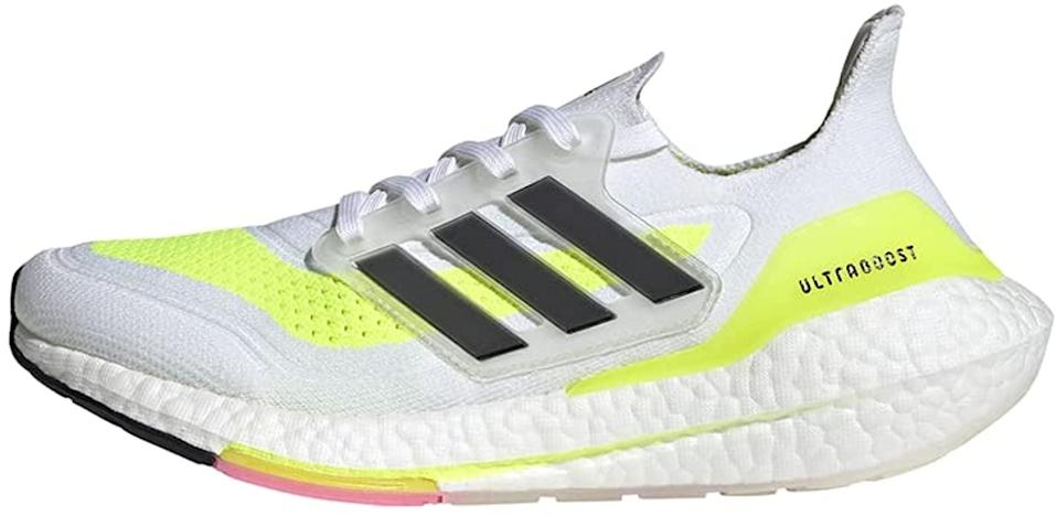 <p>These <span>Adidas Ultraboost 21 Running Shoes</span> ($180) are super supportive and a great addition to your workout wardrobe.</p>