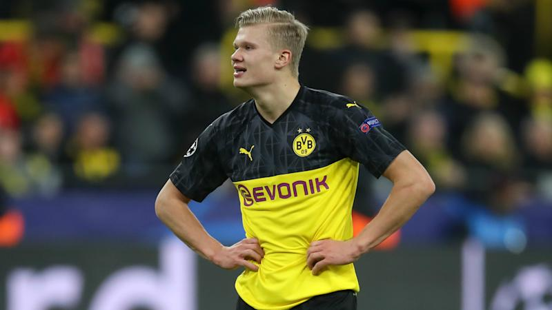 Erling Haaland makes Champions League history on record night for Dortmund star