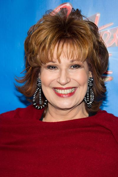 "FILE - This April 20, 2011 file photo shows Joy Behar arriving to the opening night performance of the Broadway musical ""Sister Act"" in New York. The 70-year-old comedian is leaving the ABC daytime talk show at the end of the current season in August 2013. The network said in a statement Thursday, March 7, 2013, that it wishes Behar ""all the best in this next chapter, and are thrilled that we have her for the remainder of the season."" (AP Photo/Charles Sykes, file)"