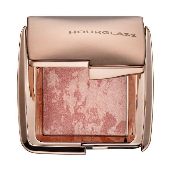 <p>The <span>Hourglass Ambient Lighting Blush Mini</span> ($24) will give your cheeks the glow it deserves!</p>