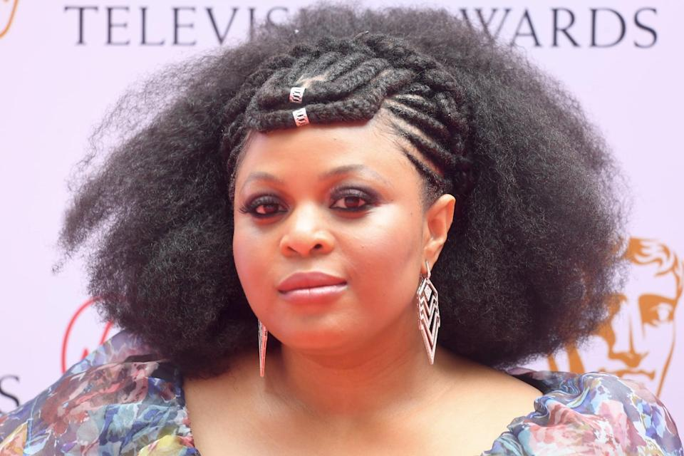 <p>Ikumelo, who won a BAFTA TV Award in 2020, brought the drama with her beauty look this year. From her dramatic smoky eyes to her intricate and original hairstyle that saw the front half styled in cornrows and two braids that connected into a crown at her forehead, whilst the back half was left full and voluminous.</p>