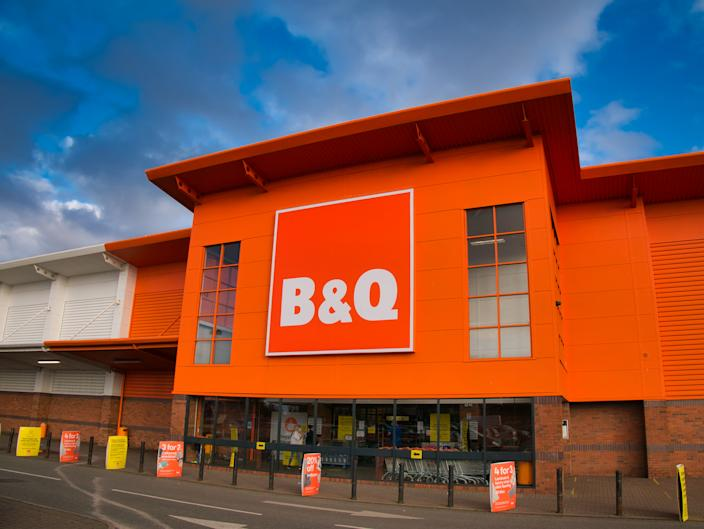 B&Q owner Kingfisher rides high on pandemic home improvement boom