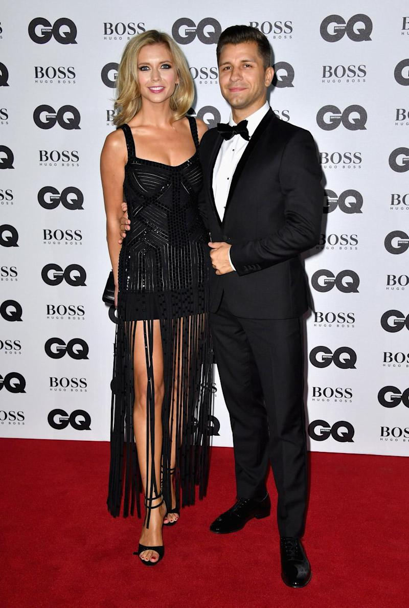 Couple: Rachel Riley and Pasha Kovalev have been dating for a couple of years (Gareth Cattermole/Getty Images)